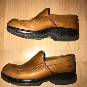Dansko Sport Brown Leather Clogs/Loafers